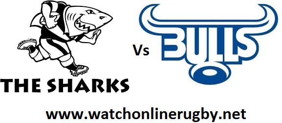 Sharks vs Bulls live