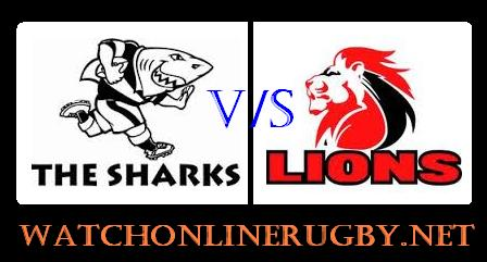 Sharks vs Lions live