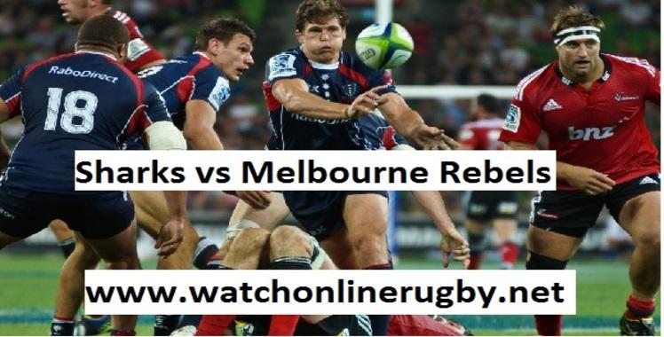 Sharks vs Melbourne Rebels