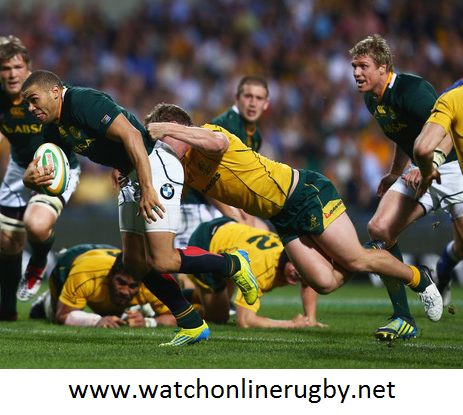 South Africa vs Australia Rugby Online Telecast