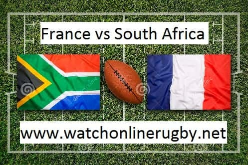 France vs Springbok rugby live