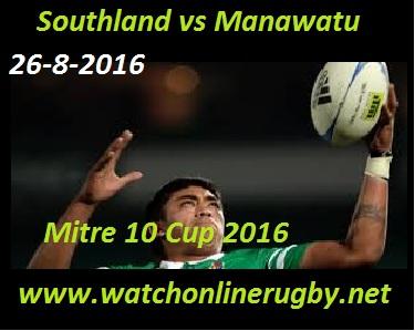Southland vs Manawatu