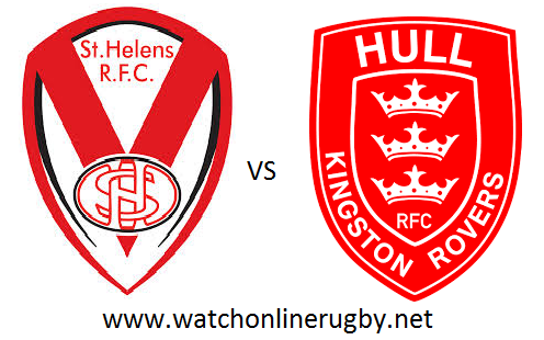 St Helens vs Hull FC live
