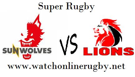 Sunwolves vs Lions stream live