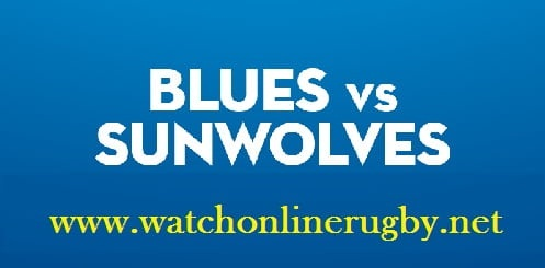 Blues vs Sunwolves live