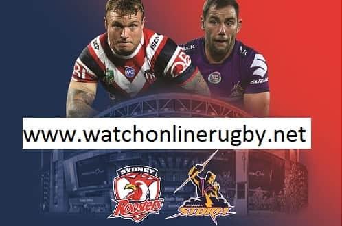 Sydney Roosters vs Melbourne Storm live