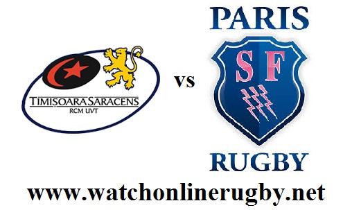 Timisoara Saracens vs Stade Francais Paris live