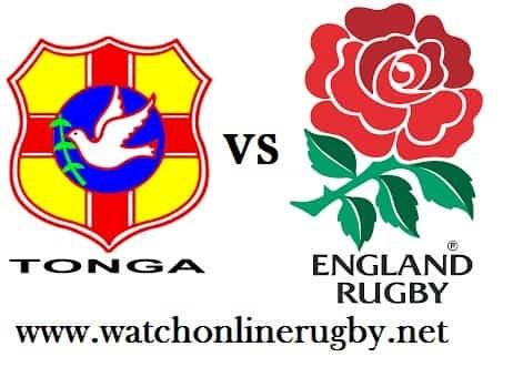Tonga vs England