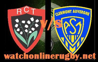 Toulon vs Clermont Auvergne live