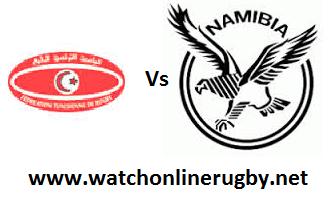 Tunisia vs Namibia rugby live