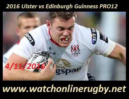 Ulster vs Edinburgh stream
