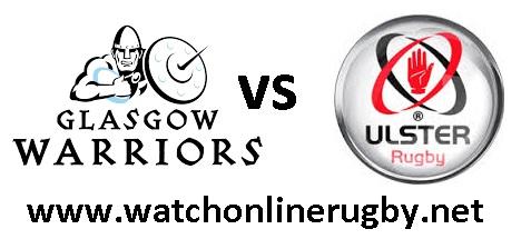 Glasgow Warriors vs Ulster