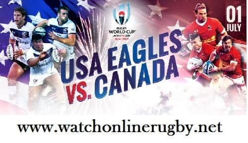 USA vs Canada rugby live