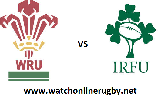 Wales vs Ireland six nations rugby