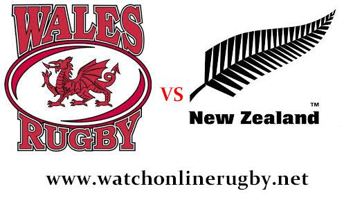 Wales vs New Zealand