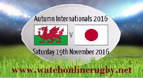 Wales vs Japan live