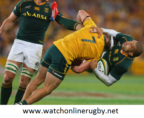 Wallabies vs Springboks 2016 Live Broadcast