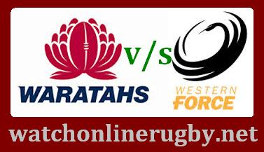 Western Force vs New South Wales Waratahs live