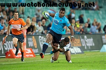 Waratahs vs Blues Live