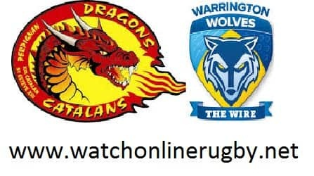 Warrington Wolves Vs Catalans Dragons live
