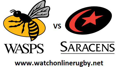 Saracens vs Wasps live
