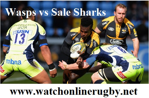 Wasps vs Sale Sharks live