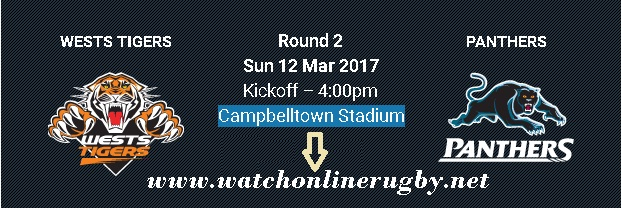 Wests Tigers vs Penrith Panthers live
