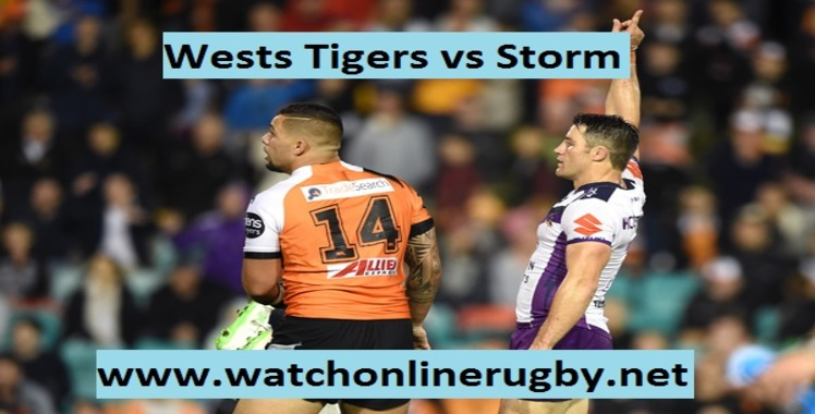 Wests Tigers vs Storm