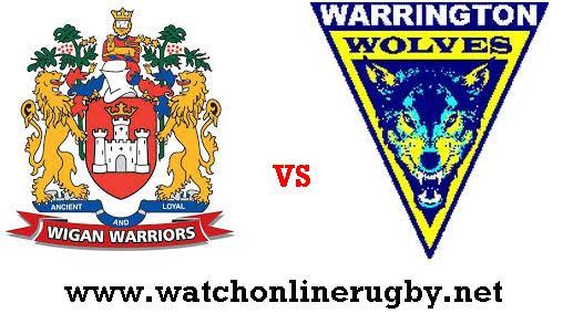 Wigan Warriors Vs Warrington Wolves live