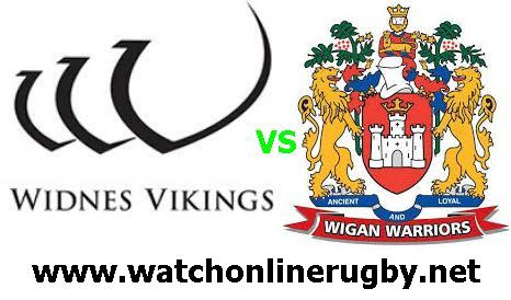 Wigan Warriors Vs Widnes Vikings live