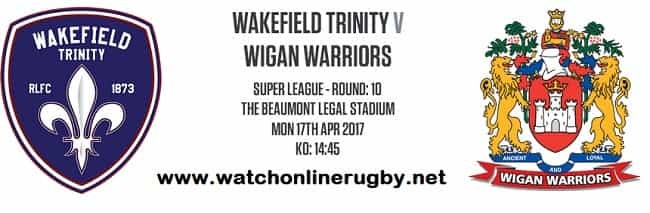 Wigan Warriors vs Wakefield Trinity