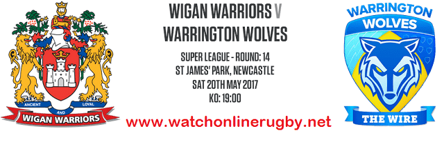 Wigan Warriors Vs Warrington Wolves live