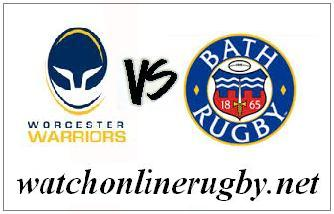 Worcester Warriors vs Bath Rugby live