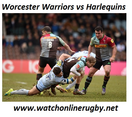 Worcester Warriors vs Harlequins