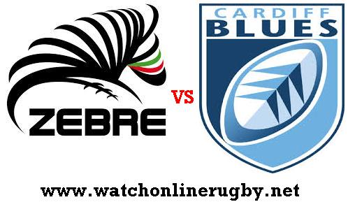 Cardiff Blues vs Zebre