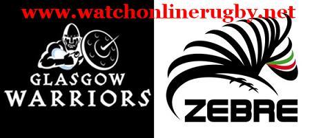 Zebre vs Glasgow