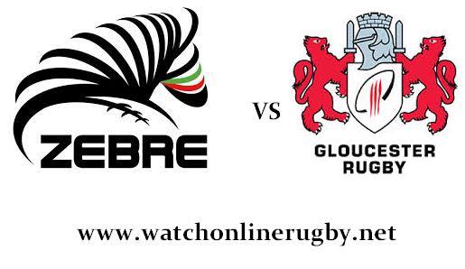 Zebre vs Gloucester rugby