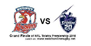 Roosters VS Storm 2018 Final Live streaming